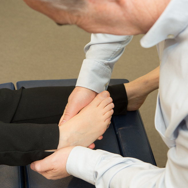 foot muscle testing
